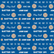 White  text -ocean  baseball vintage navy  baseball stars and text LARGE 10