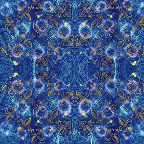 Kaleidoscope Fleur de Lis