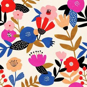 Bold Floral Pattern