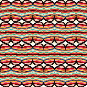 Multi colored strip