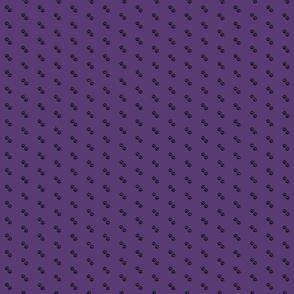 Dog Paws on Purple