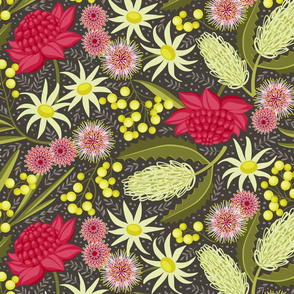Australian bush chintz