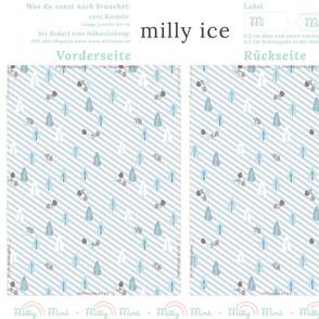 milly mint seasonal bag pattern ice