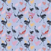 Oriental Galore 02 (Crane Birds of Japan)