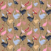 Oriental Galore 03 (Crane Birds of Japan)