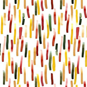 HOLIDAY WATERCOLOUR STRIPES