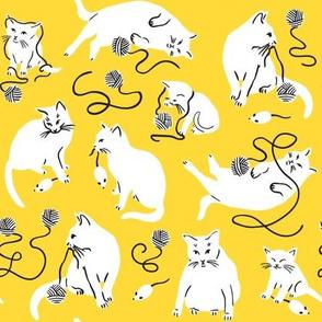 Kitty Wonderland - Yellow