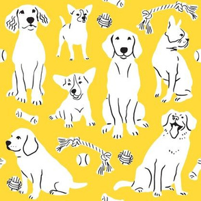 Doggy Wonderland - Yellow