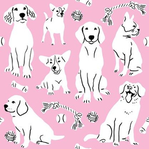 Doggy Wonderland - Pink