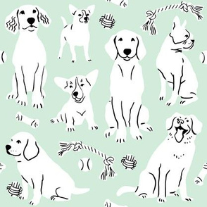 Doggy Wonderland - Mint