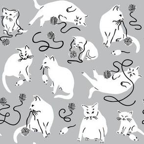 Kitty Wonderland - Gray