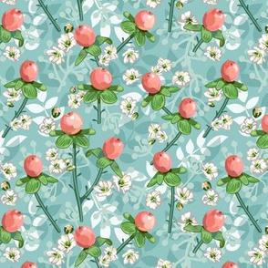 Hypericum Berries | Soft Green | Small