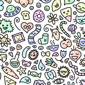 A World of Doodles Watercolor