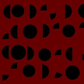 Maroon Circles