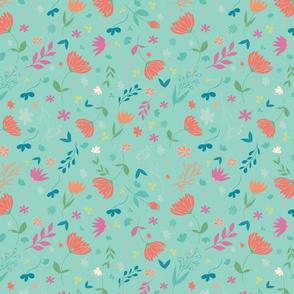 Villarosa, Floral pattern 01