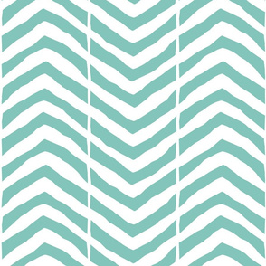 Jumbo Chevron mint