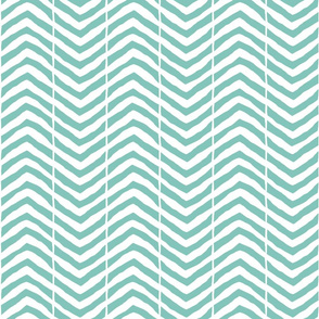 large chevron mint