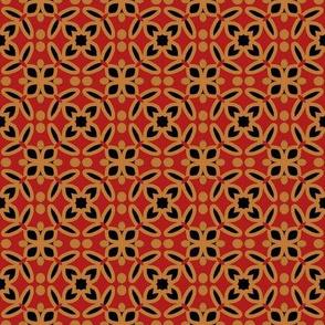 Red Chinese Circular