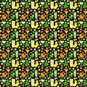 Citrus pop on black 4x4