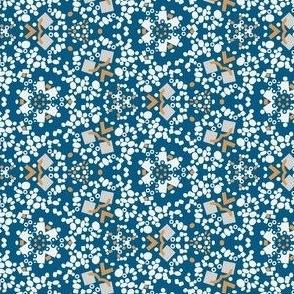 Kaleidoscop Blue Small