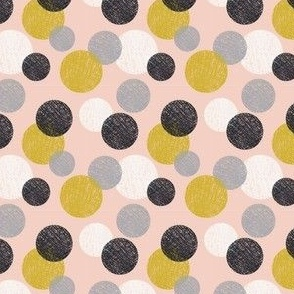 Polka Dots in Peach