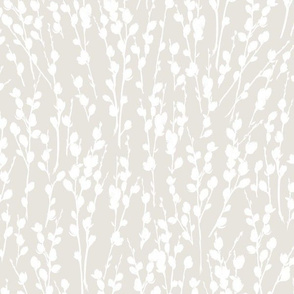 "12"" Willow | Light Natural + White"