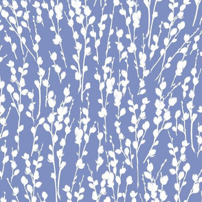 """12"""" Willow   Soft Country Blue + White"""