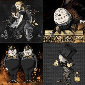 Wonderland Dark Patchwork