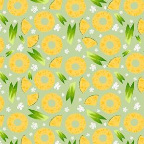 Pineapple Upside Down Green