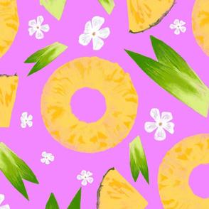 Pineapple Upside Down Pink