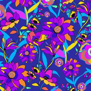 70s Hippie Flora