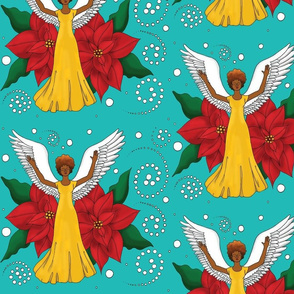 Textile-AngelFlowers0049x9colored