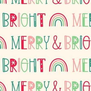 Merry & Bright on Cream