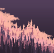 Pastel Forest