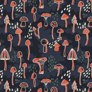 Line Mushrooms