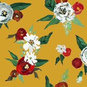 Christmas Roses // Mustard