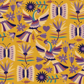 Otomi Garden-Muted Jewel Tones