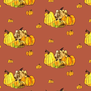 Oh my gourd! (terra-cotta)