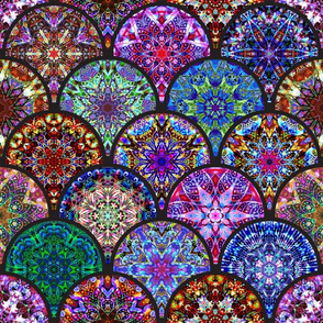 Intricate Kaleidoscope Collection