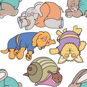 Baby Animals Sleeping 1