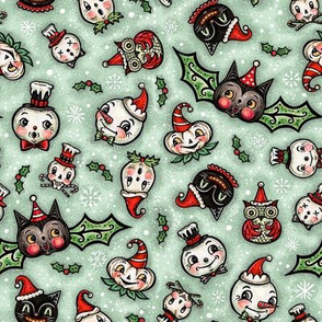 Spooky Christmas Scatter Small
