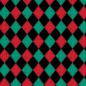 Checkered Diamond Holiday