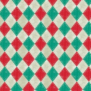 Checkered Diamond Christmas