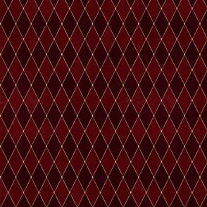 Glamorous Harlequin Red
