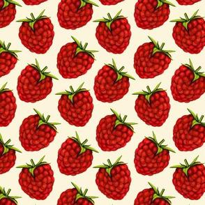 Rasberries - Cream