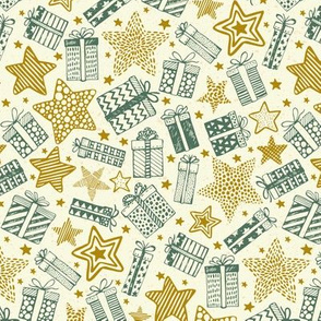 Gifts Stars-Teal