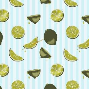 Pop art lime