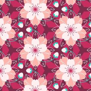 sakura kaleidoscope