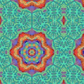 Watercolor Kaleidoscop
