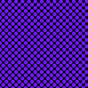 Big Purple Polka Dots